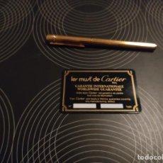 Plumas estilográficas antiguas: PLUMA CARTIER. Lote 233165860