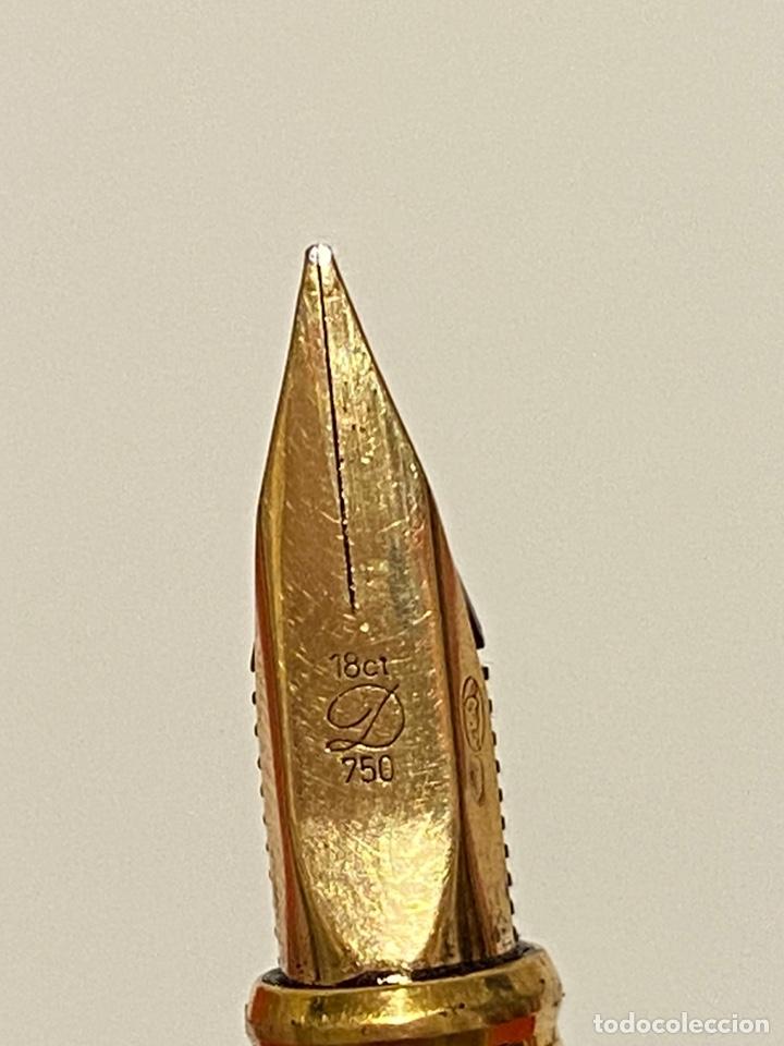 Plumas estilográficas antiguas: PLUMA ST DUPONT ORIGINAL COMO NUEVA - Foto 5 - 234887425