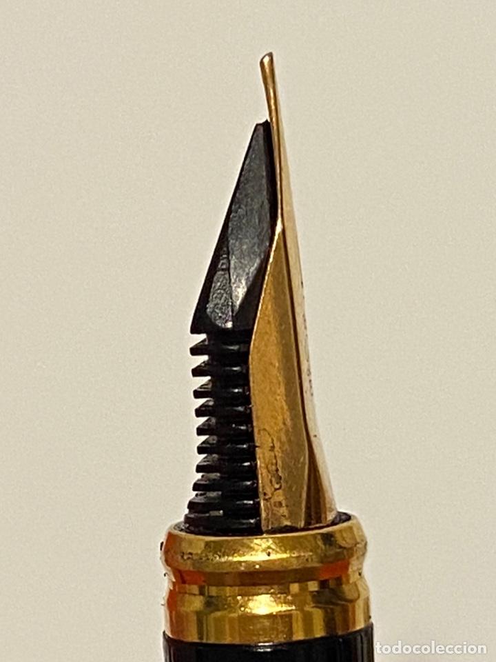 Plumas estilográficas antiguas: PLUMA ST DUPONT ORIGINAL COMO NUEVA - Foto 7 - 234887425