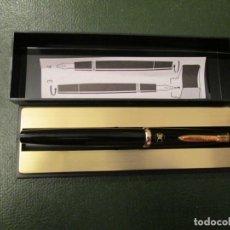 Penne stilografiche antiche: PLUMA REFORM NEGRA PUBLICITARIA. Lote 236103165