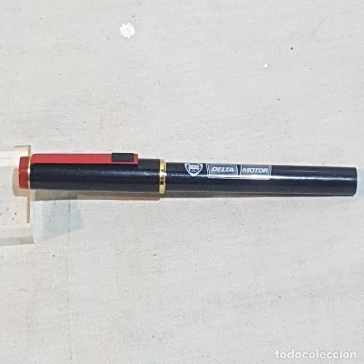 PLUMA PUBLICIDAD LANCIA DELTA MOTOR (Plumas Estilográficas, Bolígrafos y Plumillas - Plumas)