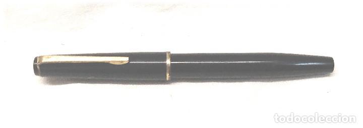 Plumas estilográficas antiguas: Kaweco V91 Pluma Estilográfica Celuloide negro, Plumín oro 14 k, años 30 - Foto 2 - 236864065