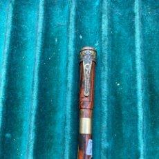 Plumas estilográficas antiguas: PLUMA DE SEÑORITA. PLUMÍN DE ORO. Lote 237526625