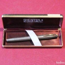 Penne stilografiche antiche: PLUMA ESTILOGRAFICA SHEAFFER IMPERIAL TOUCHDOWN STERLING SILVER - PLATA MACIZA. Lote 240396335