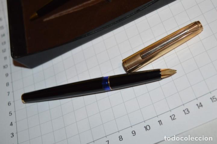 Plumas estilográficas antiguas: Estuche/caja PELIKAN - Modelo 30 ROLLED GOLD - ¡Precioso y buen estado físico, mira fotos/detalles! - Foto 3 - 240931475