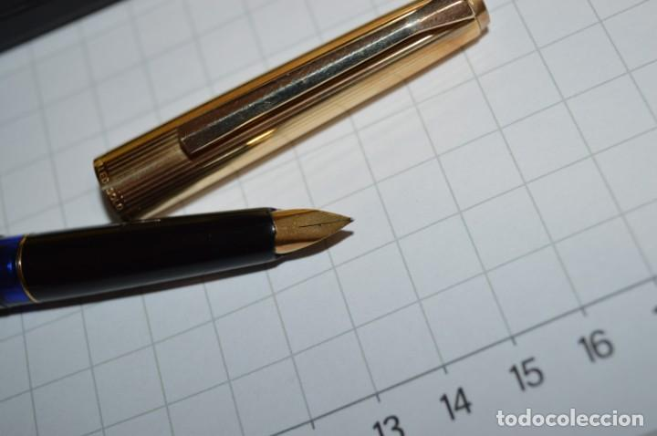 Plumas estilográficas antiguas: Estuche/caja PELIKAN - Modelo 30 ROLLED GOLD - ¡Precioso y buen estado físico, mira fotos/detalles! - Foto 4 - 240931475