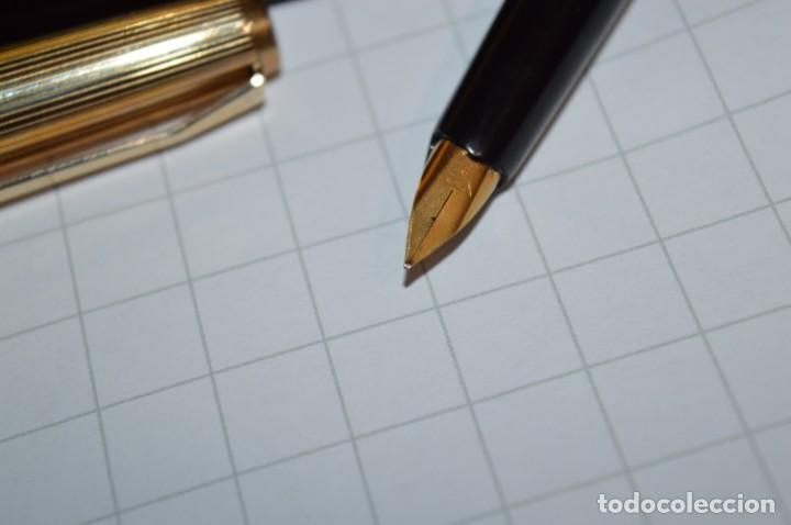 Plumas estilográficas antiguas: Estuche/caja PELIKAN - Modelo 30 ROLLED GOLD - ¡Precioso y buen estado físico, mira fotos/detalles! - Foto 8 - 240931475