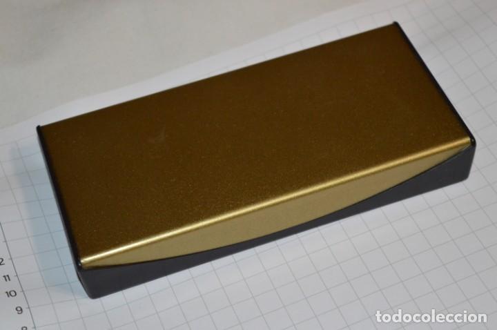 Plumas estilográficas antiguas: Estuche/caja PELIKAN - Modelo 30 ROLLED GOLD - ¡Precioso y buen estado físico, mira fotos/detalles! - Foto 11 - 240931475