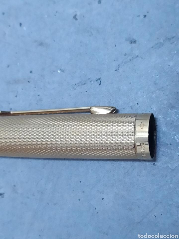 Plumas estilográficas antiguas: 2 PLUMAS ESTILOGRÁFICAS PARKER MADE IN FRANCIA ORO - Foto 5 - 242835590