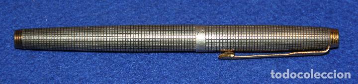 Plumas estilográficas antiguas: PLUMA ESTILOGRAFICA PARKER 75 STERLING SILVER - PLATA - FOUNTAIN PEN - Foto 11 - 244878575