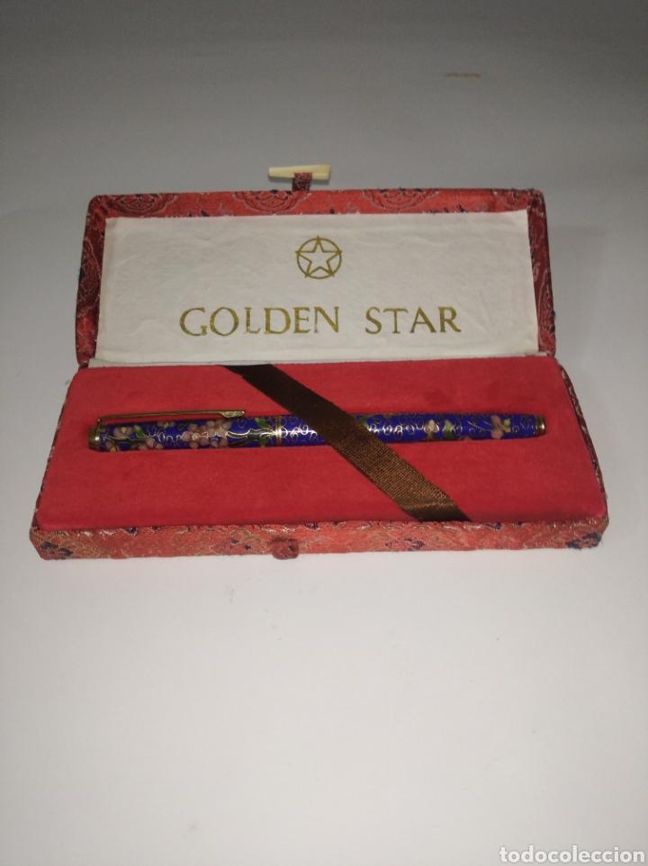 PLUMA GOLDEN STAR GSP 910, AÑOS 50/60 (Plumas Estilográficas, Bolígrafos y Plumillas - Plumas)