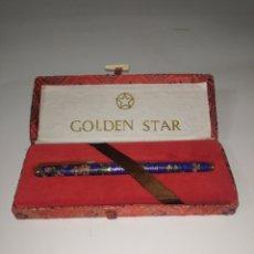 Plumas estilográficas antiguas: PLUMA GOLDEN STAR GSP 910, AÑOS 50/60. Lote 245107625