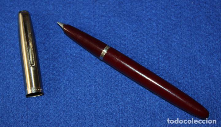 Plumas estilográficas antiguas: ANTIGUA PLUMA ESTILOGRAFICA INOXCROM 55 Y BOLIGRAFO A JUEGO - Foto 5 - 245596555