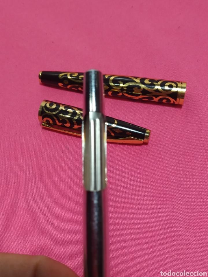 Plumas estilográficas antiguas: Pluma marcada 18 K GP M - Foto 5 - 251400970