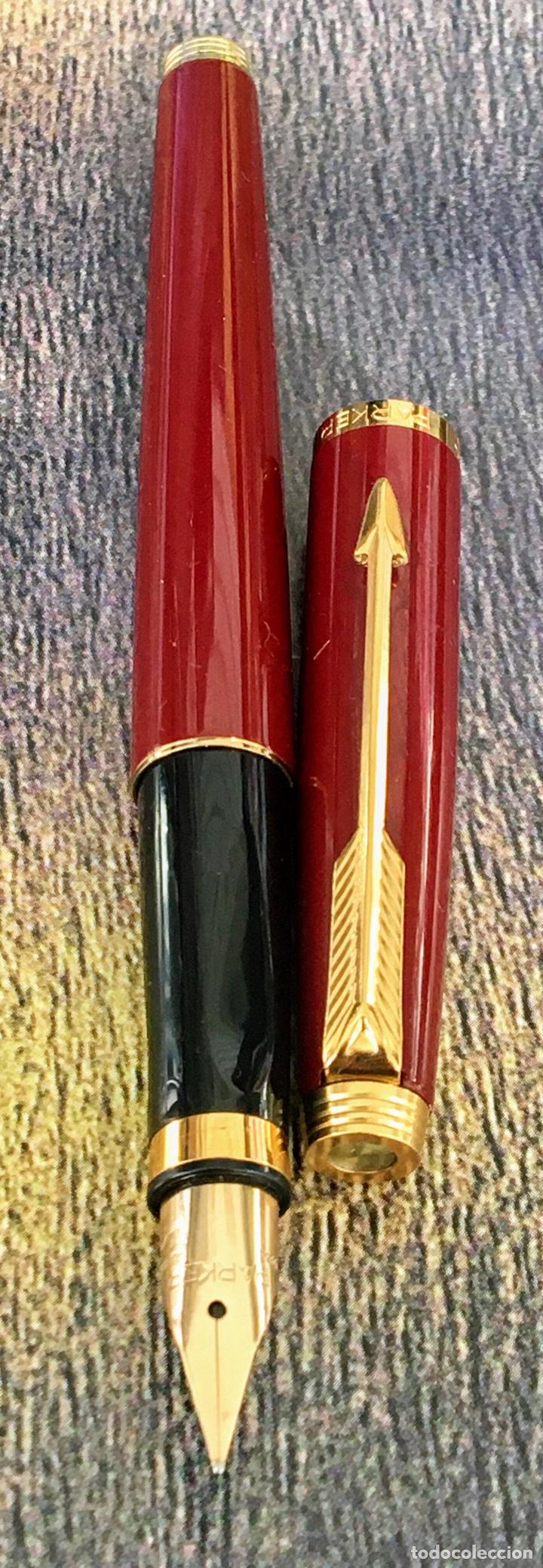 Plumas estilográficas antiguas: PARKER 75 LACADA 1975'S FRANCE - Foto 2 - 253414700