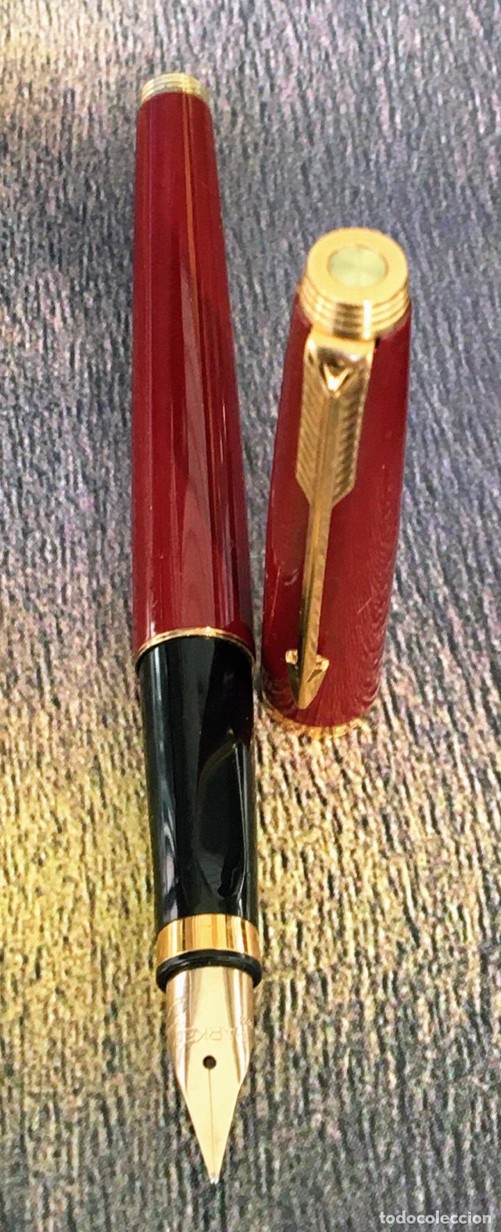 Plumas estilográficas antiguas: PARKER 75 LACADA 1975'S FRANCE - Foto 3 - 253414700