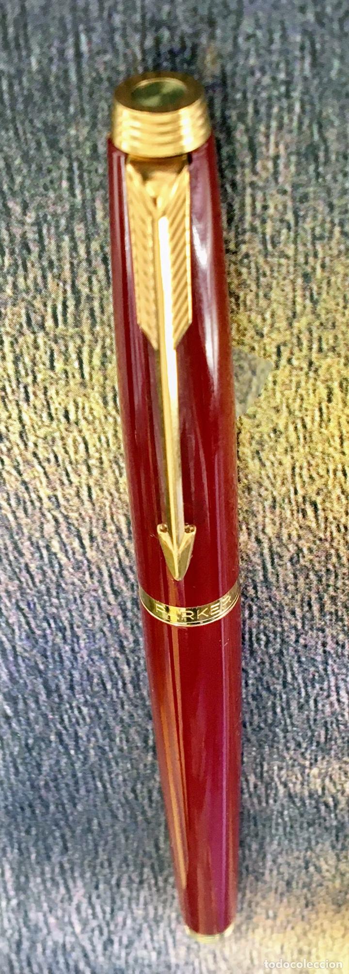 Plumas estilográficas antiguas: PARKER 75 LACADA 1975'S FRANCE - Foto 5 - 253414700