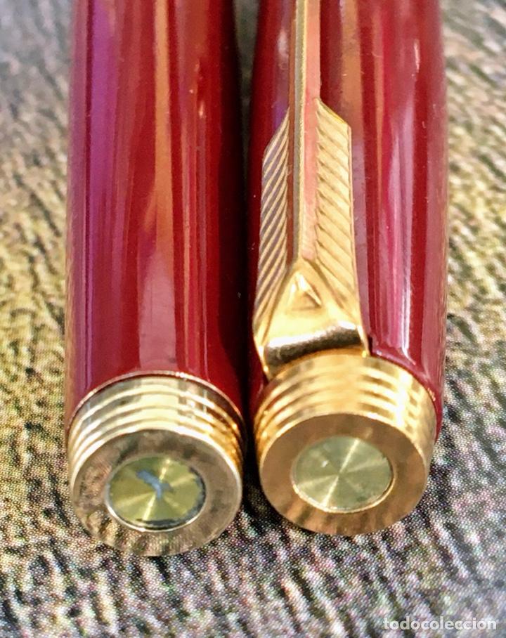 Plumas estilográficas antiguas: PARKER 75 LACADA 1975'S FRANCE - Foto 6 - 253414700