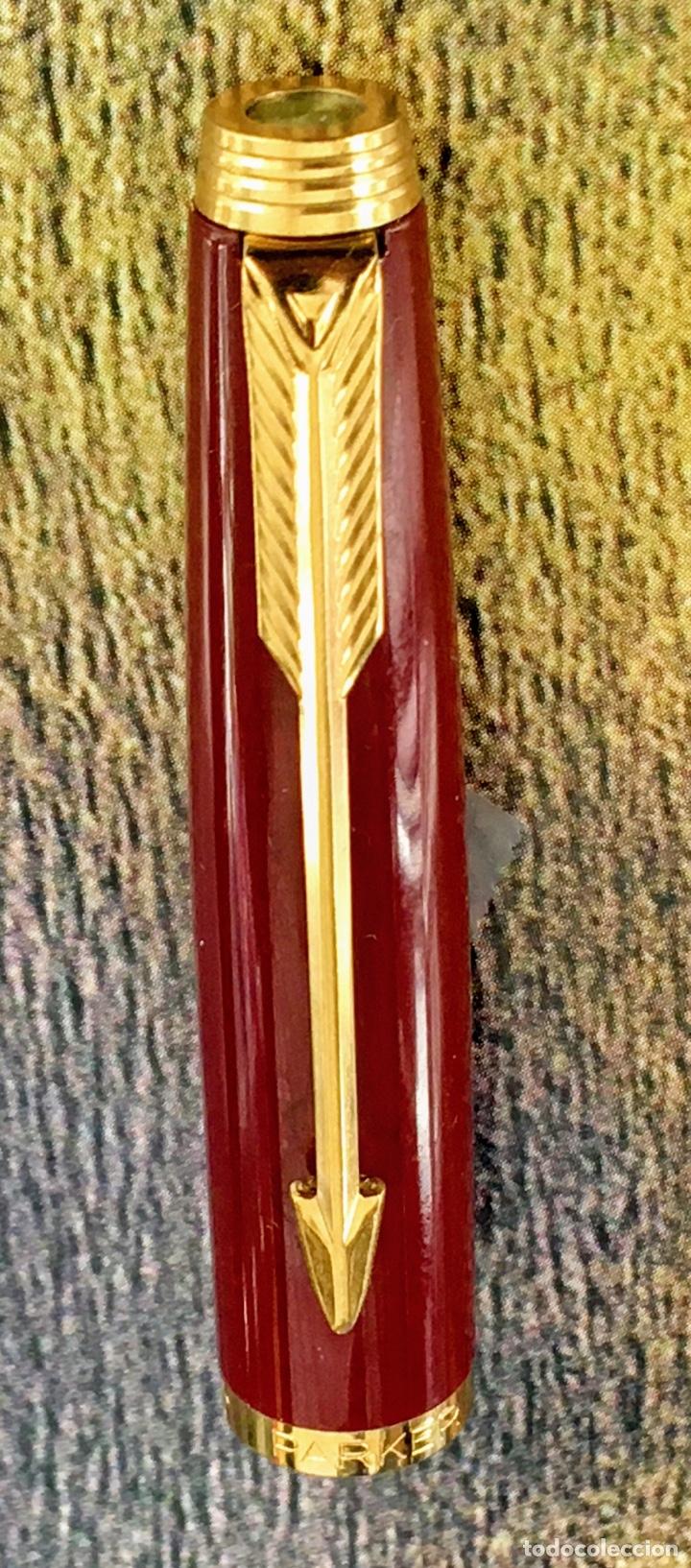 Plumas estilográficas antiguas: PARKER 75 LACADA 1975'S FRANCE - Foto 7 - 253414700
