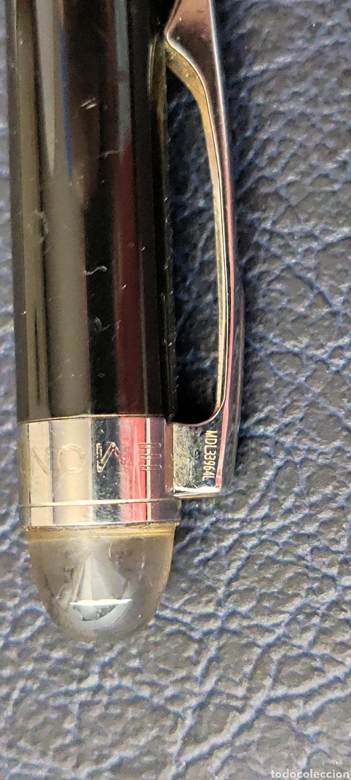 Plumas estilográficas antiguas: Bolígrafo montblanc starwalker resina con número serie escribe - Foto 11 - 253533855