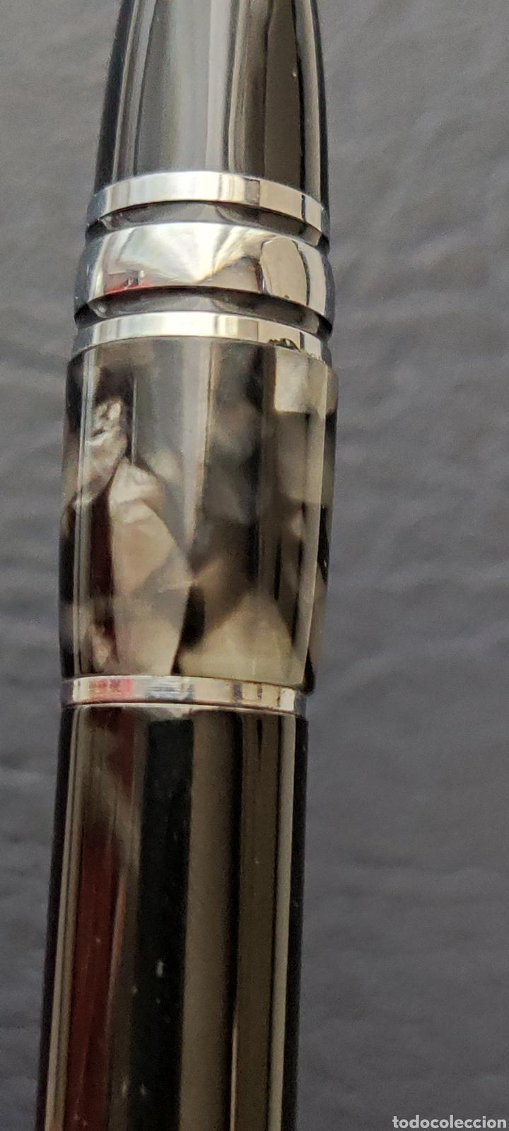 Plumas estilográficas antiguas: Bolígrafo montblanc starwalker resina con número serie escribe - Foto 17 - 253533855