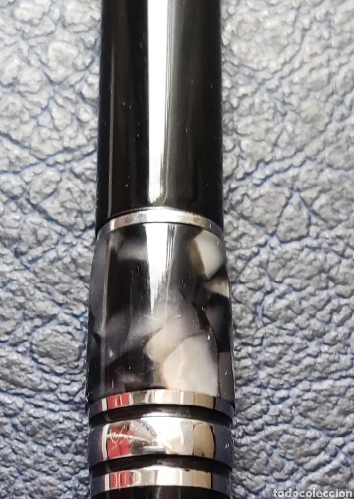 Plumas estilográficas antiguas: Bolígrafo montblanc starwalker resina con número serie escribe - Foto 18 - 253533855
