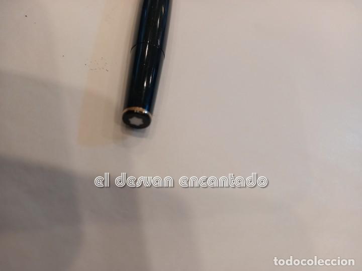 Plumas estilográficas antiguas: Antigua MONTBLANC Meisterstuck nº 12. Color negro. VER FOTOS - Foto 5 - 253537120