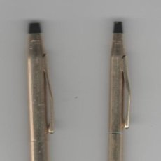 Plumas estilográficas antiguas: BOLIGRAFOS CROSS- CHAPADO EN ORO-1/20 12 KT GOLD. Lote 254361960