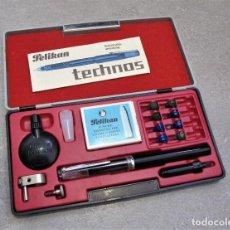 Plumas estilográficas antiguas: PLUMA PELIKAN TECHNOS. Lote 254550570