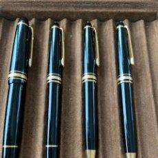 Plumas de tinta permanente antigas: LOTE MONTBLANC. Lote 257967415