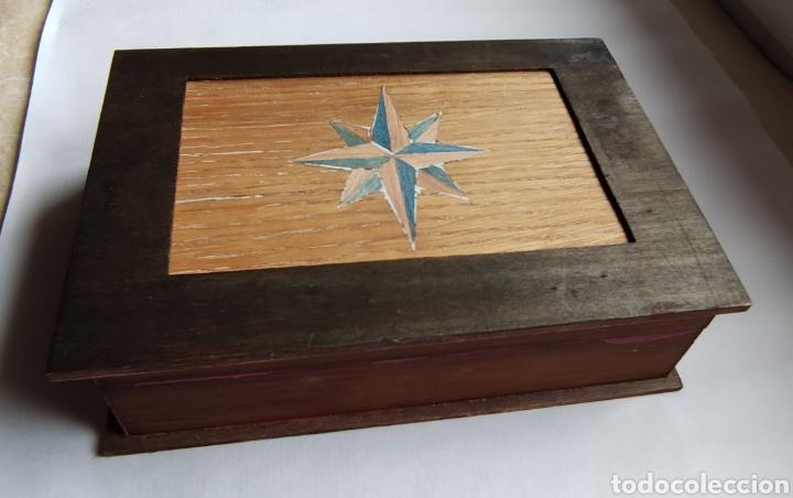 Plumas estilográficas antiguas: Estuche madera y 2 plumas estilográficas - Foto 9 - 258087115
