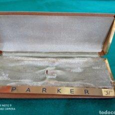 Plumas estilográficas antiguas: ESTUCHE PLUMA PARKER U.S.A. Lote 260385235