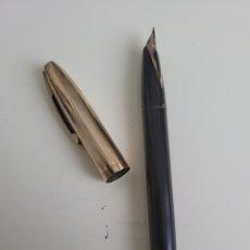 Plumas estilográficas antiguas: ANTIGUA PLUMA SHEAFFER USA PLUMIN ORO. Lote 262331425