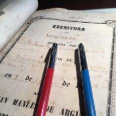 Plumas estilográficas antiguas: DOS PLUMAS ESTILOGRÁFICAS SHEAFFER RARAS DE CONSEGUIR. Lote 262672535