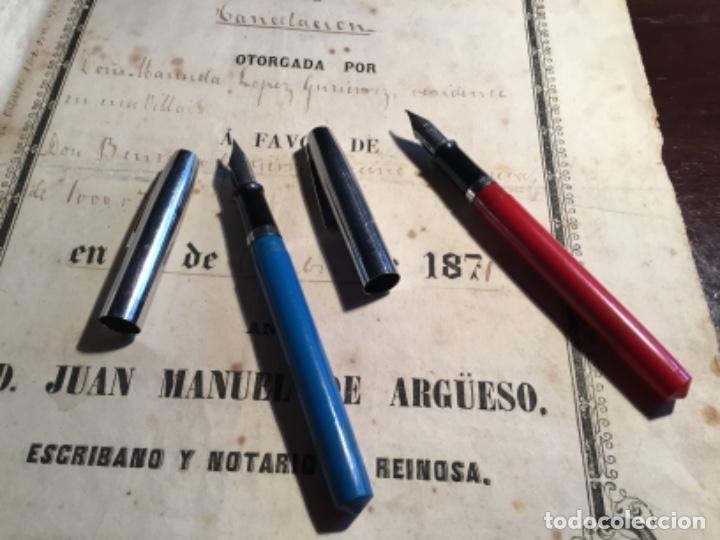 Plumas estilográficas antiguas: Dos plumas estilográficas sheaffer raras de conseguir - Foto 9 - 262672535