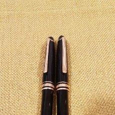 Penne stilografiche antiche: MONTBLANC PLUMA ESTILOGRAFICA MEISTERSTUK 4810 PLUMIN ORIGINAL ORO 14 KL.Y BOLIGRAFO. Lote 268145414