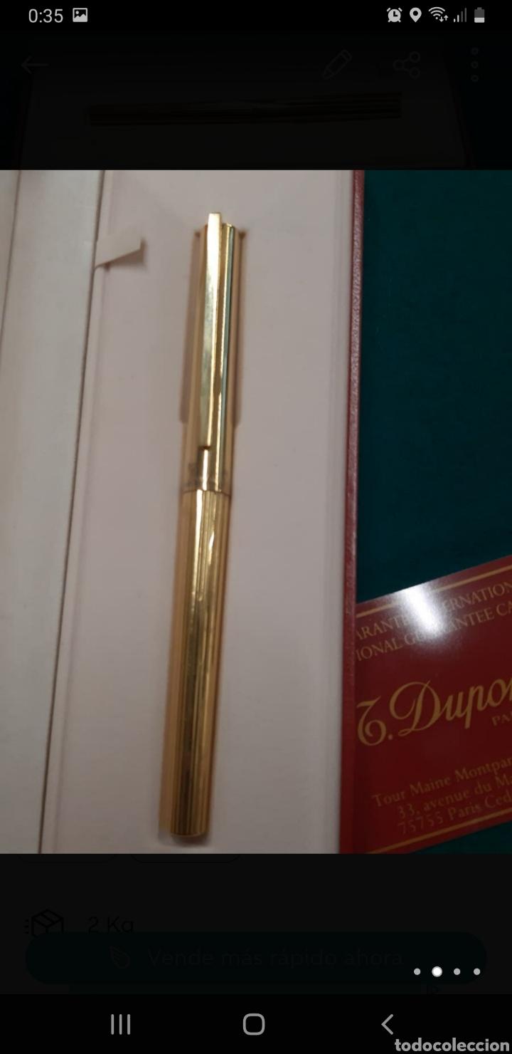 Plumas estilográficas antiguas: PLUMA ORO 18K DUPONT - Foto 2 - 268472334
