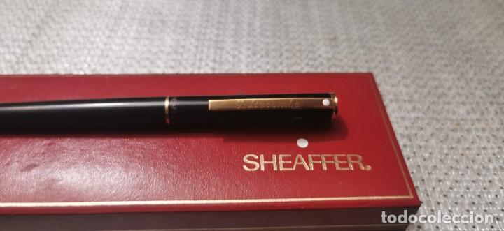 Plumas estilográficas antiguas: Sheafer pluma estilografica T.lacomba - Foto 3 - 268473619