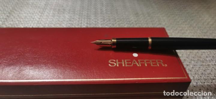 Plumas estilográficas antiguas: Sheafer pluma estilografica T.lacomba - Foto 5 - 268473619