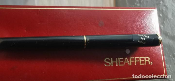 Plumas estilográficas antiguas: Sheafer pluma estilografica T.lacomba - Foto 6 - 268473619