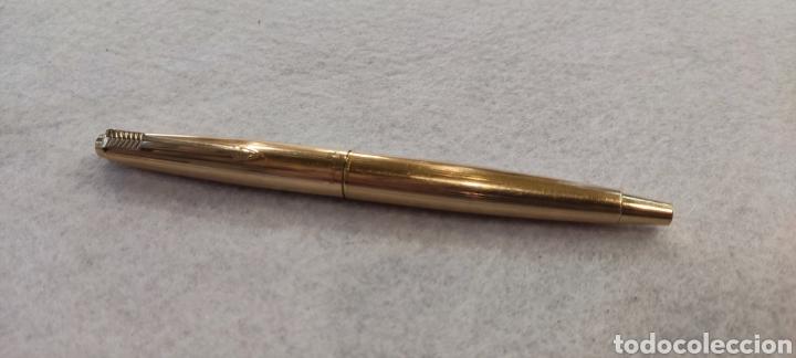 Plumas estilográficas antiguas: Pluma Parker Rolled gold, england - Foto 3 - 268601564