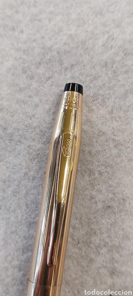 Plumas estilográficas antiguas: Pluma Cross 1/20 14k Rolled gold, Ireland - Foto 4 - 268603409