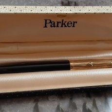 Plumas estilográficas antiguas: PLUMA PARKER MADE IN ENGLAND 1/10 12 CT R. GOLD,LADY CUSTOM. Lote 269384943