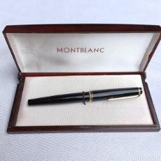 Penne stilografiche antiche: ANTIGUA PLUMA MONT BLANC N° 22 COMO NUEVA. Lote 269466038