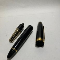Plumas de tinta permanente antigas: PLUMA SAILOR 1911 LARGE GOLD SERIES, NEGRO, ORO. Lote 286531393