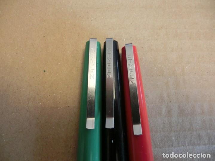 Plumas estilográficas antiguas: PLUMAS ESTILOGRÁFICA-STYPEN - Foto 2 - 287494418