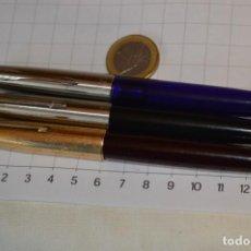 Plumas de tinta permanente antigas: LOTE DE 3 PLUMAS VARIADAS / MARCA PARKER / MODELOS 21, 51 Y FRONTIER - ¡MIRA FOTOS/DETALLES!. Lote 292143583