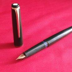 Penne stilografiche antiche: PLUMA MONTBLANC 24 COLOR VERDE. TAL CUÁL COMO SE VE EN FOTOS. Lote 292536083