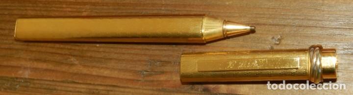 Plumas estilográficas antiguas: Boligrafo Cartier Le Must Vendome Serie Trinity. Chapado en oro 18 K. Incluye estuche original. Inic - Foto 5 - 293537898