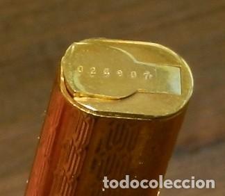 Plumas estilográficas antiguas: Boligrafo Cartier Le Must Vendome Serie Trinity. Chapado en oro 18 K. Incluye estuche original. Inic - Foto 9 - 293537898
